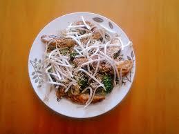cuisiner le soja frais comment cuisiner les germes de soja frais amazing salade de pousses