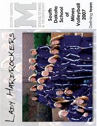 2007 sd mines volleyball media guide by brad blume issuu