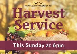harvest service large format event poster truthvine