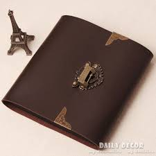vintage leather photo album aliexpress buy handmade brown pu leather photo album