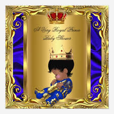 prince baby shower custom royal baby shower invites templates babyfavors4u