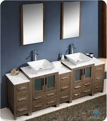 84 Double Sink Bathroom Vanity by Virtual Mega Fresca Torino 84