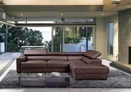 Modern Brown Sofa Living Rooms With Brown Leather Sofa