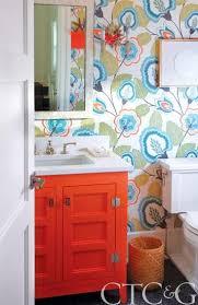 funky bathroom wallpaper ideas 25 inspiring and colorful bathroom vanities via tipsholic bathroom