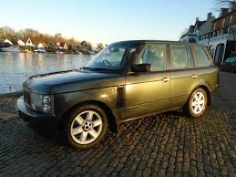 brown range rover used land rover range rover 4 doors for sale motors co uk