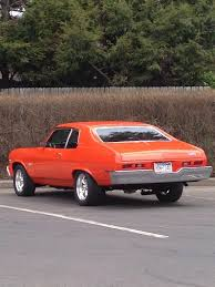 Chevy Malibu 60s Vintage Orange Color Chevy Nova 60s Appreciated By Motorheads