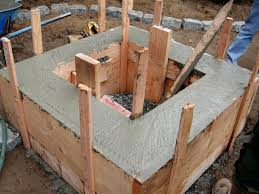 Concrete Firepit How To Make A Concrete Feature How Tos Diy