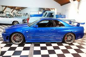 fast and furious 1 cars paul walker u0027s nissan skyline gt r from fast u0026furious 4 up for sale