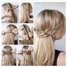 cute half up braid hairstyles tutorial long straight hair ideas