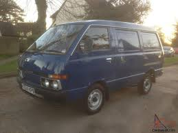 nissan vanette pick up c220 nissan vanette 1 5 petrol van with 5 speed manual 23k mint rare