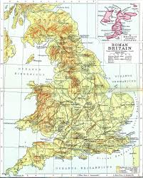 Roman Map Historical Maps Of The British Isles