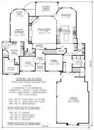 single floor 4 bedroom house plans 1 story house plans with loft home design single story house