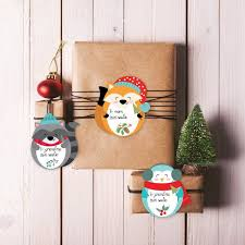 printable gingerbread man gift tags 10 printable holiday gift tags from etsy