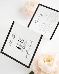 tri fold program modern logo wedding ceremony programs wedding programs by shine