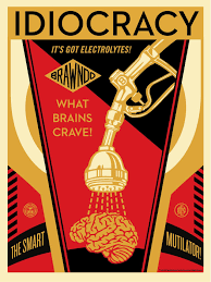 mondo is currently selling a new film poster for idiocracy by