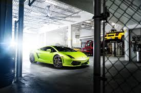 Lamborghini Aventador Neon Green - http www wallpaperup com uploads wallpapers 2014 05 29 360184