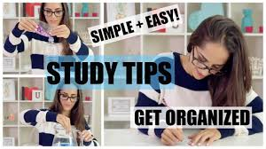 Desk Organized by Get Organized With These Simple And Easy Top Study Tips Diy