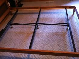 Bed Frame Support Steel Bed Frame Center Support 3 Rails 3 Adjustable Legs Gs3 Xs