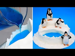 penguins of madagascar jello pool cake how to make by