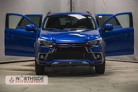 mitsubishi suv blue new suv vehicles for sale northside mitsubishi