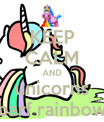 Drooling Rainbow Meme - unicorn barfing rainbows images free download 10 of the best