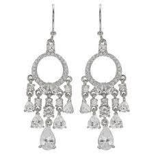 White Chandelier Earrings Purple Chandelier Earrings Target