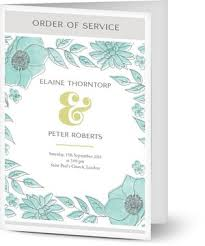 Funeral Programs Order Of Service Order Of Service Online Printing Uk Quality Guaranteed At Low Costs