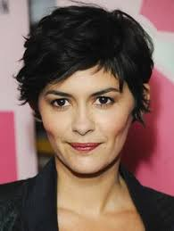 haircut for ling face with high cheek bones the 6 most stylish short haircuts audrey tautou short haircuts