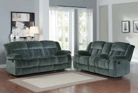 Microfiber Reclining Sofa Sets Homelegance Laurelton Reclining Sofa Set Charcoal Textured