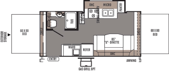 rockwood trailers floor plans forest river rockwood roo rvs for sale camping world rv sales
