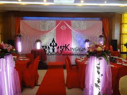 wedding backdrop china pink color wedding backdrop curtain with silver sequin fabric from