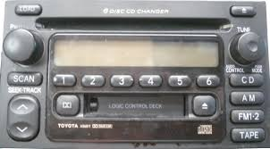 toyota car stereo toyota stereo and cd changer repair