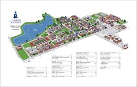 American University Campus Map Directions U0026 Maps Howard University