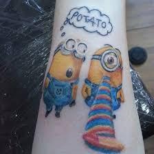 batman minion tattoo 16 best minion tattoos images on pinterest minion tattoo tattoo