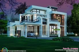 box model contemporary 2215 sq ft u20b945 lakhs kerala home design