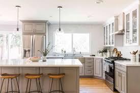 grey kitchen cabinets ideas 22 gray kitchen cabinet ideas that we
