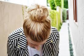 sock bun hair mr kate diy braided sock bun