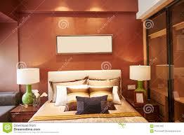 decoration maison de luxe décoration à la maison de luxe de chambre à coucher photo stock