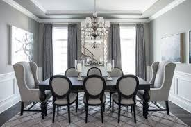 Traditional Dining Room Ideas Beautiful Gray Traditional Dining Room Chicago Kristin