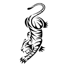 15 awesome tribal tiger tattoos only tribal
