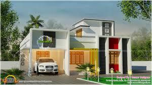 one floor flat roof 3 bedroom house kerala home design 2 floor