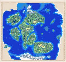 Huge World Map by Golden Sun World Map By Golden Sunrise Forum On Deviantart