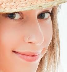 pink nose rings images Fake nose ring piercing moonli designs jpg