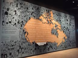 visiting the canadian museum for human rights in winnipeg manitoba
