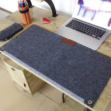 Corner Desk Mat Durable Computer Desk Mat Modern Table Felt Office Mouse Wholesale