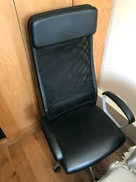 markus swivel chair review ikea markus office chair in old street london gumtree