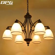 glass globes for chandeliers aliexpress com buy art deco modern iron glass shade chandeliers