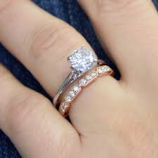 custom wedding band to fit engagement ring read our diamond