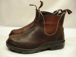 womens boots made in australia womens blundstone 500 stout brown boots leather sz 5 7 5 38 m