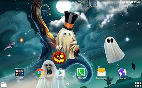 moving halloween wallpapers hd halloween live wallpaper android apps on google play